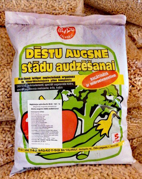 Ceļarāji dēstu augsne stādu audzēšanai, 5l