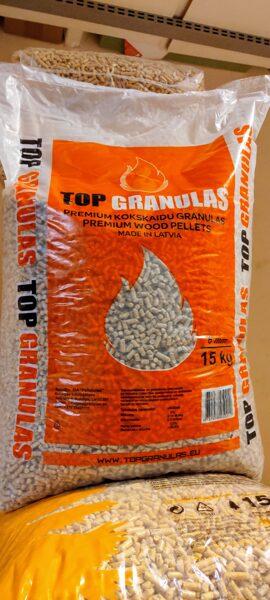Top granulas, Premium 6mm