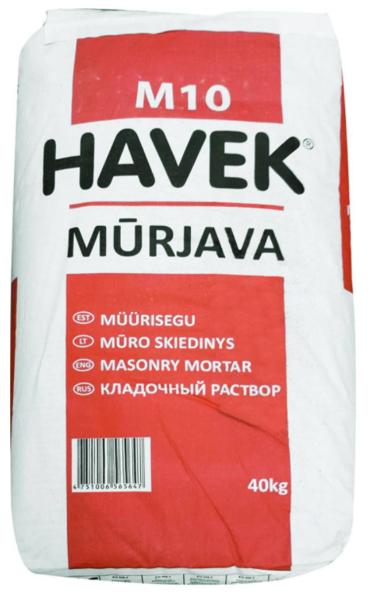 MŪRJAVA HAVEK 40KG