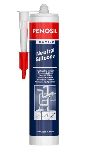 Silikona hermētiķis penosil premium neutral silicone caurspīdīgs 310 ml