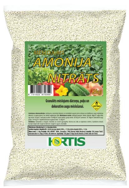 Hortis Amonija nitrāts 2kg