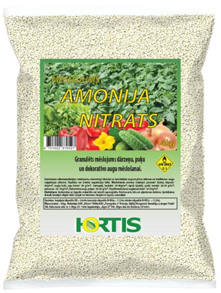 Hortis Amonija nitrāts 4kg