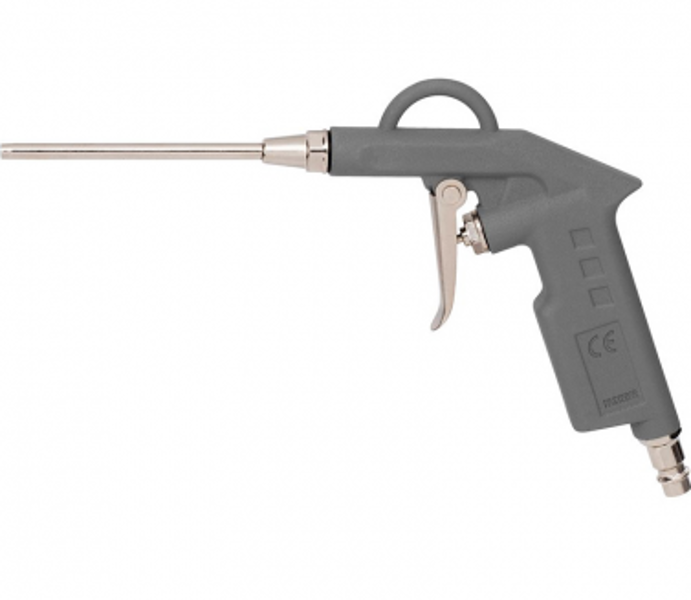Gaisa pistole ar garo uzgali 10cm PowerPlus