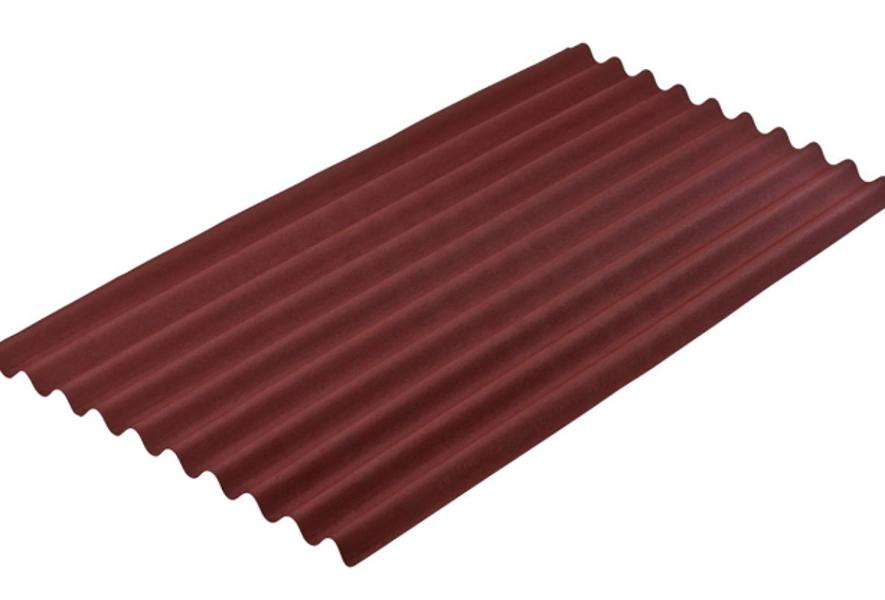 Jumta loksne onduline sheet classic p2104p sarkans 2000x950 mm (cena par gab.)