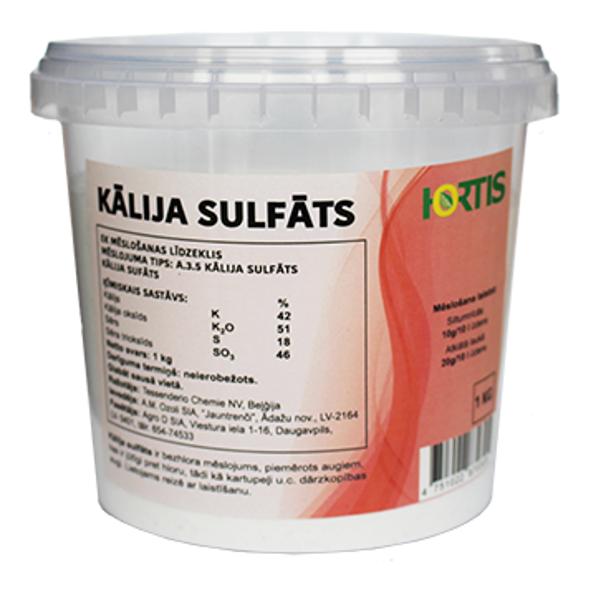 Kālija sulfāts 1kg