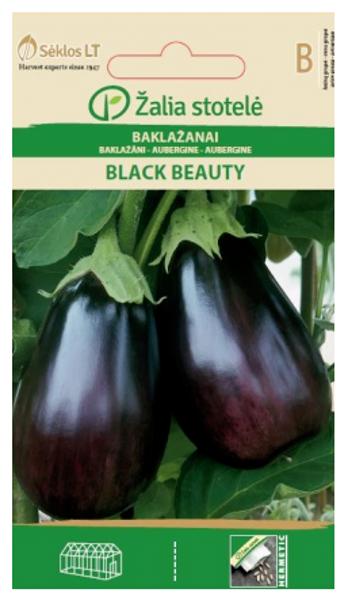 Baklažāni BLACK BEAUTY 0.5g