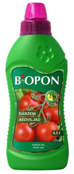 Šķidrais mēslojums dārzeņiem Biopon, 500 ml