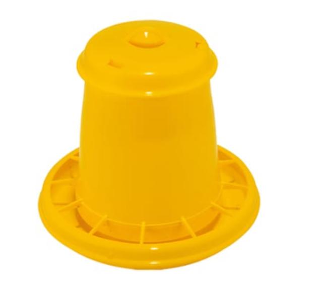 Automātiska barotava putniem dzeltena Kerbl, 2,5 L