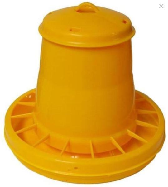 Automātiska barotava putniem dzeltena Kerbl, 5,25 L