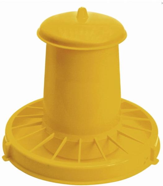 Automātiska barotava putniem dzeltena Kerbl, 10,5 L