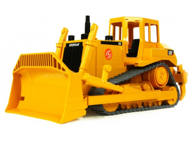 Rotaļu buldozers CAT, Bruder