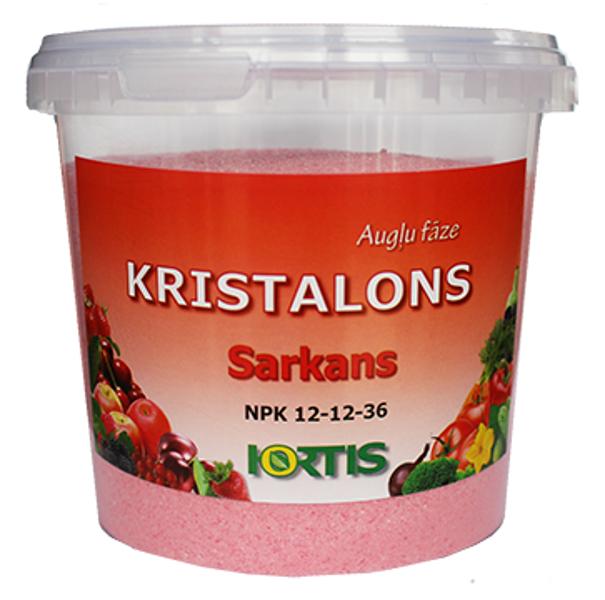 Kristalons Sarkans 1kg