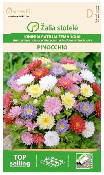 Asteres Ķīnas gr. PINOCCHIO mix 0.3g
