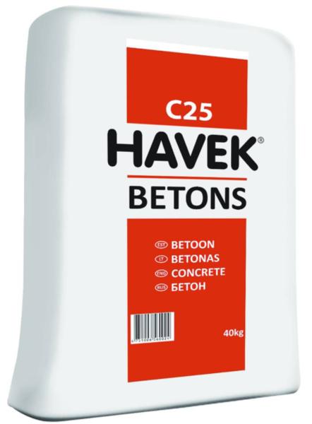 BETONS HAVEK C25/30 40KG