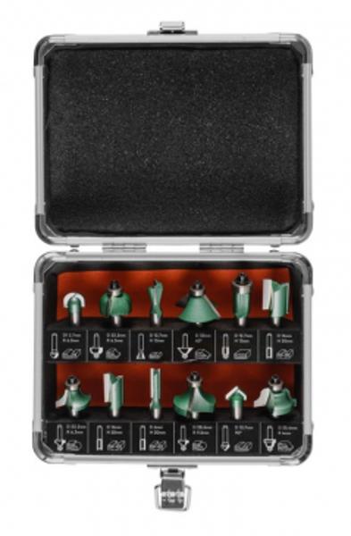 Frēžu kompl. kokam PROF 8mm (12gab.) 81851000 DNIPRO-M