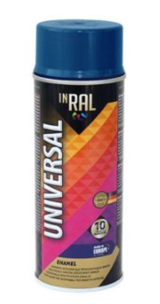 Emalja aerosols inral inral universal 400ml tumši zila