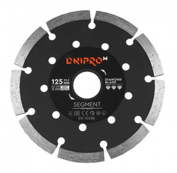 Dimanta griezējdisks segment. 125x22.23mm DNIPRO-M