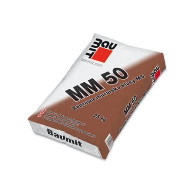 ZIEMAS MŪRJAVA BAUMIT MM 50 WINTER, 25KG