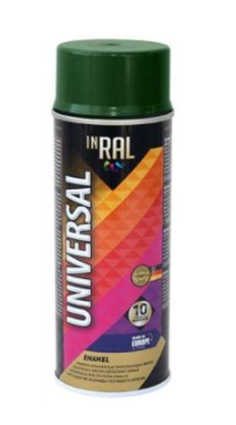 Emalja aerosola inral universal ral6029 400ml zaļa