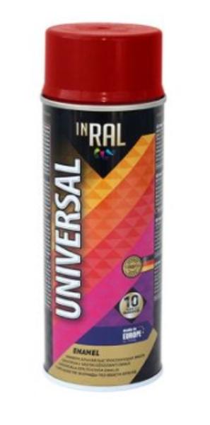 Emalja aerosola inral universal 400ml ral3000 ugunīgi sarkana