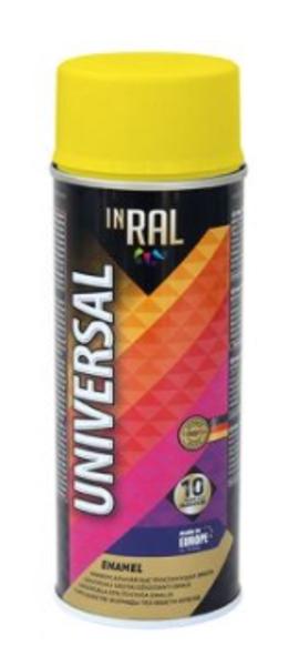 Emalja aerosola inral universal ral1018 400ml dzeltena