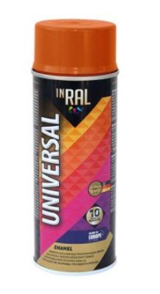 Emalja aerosols inral universal 400ml ral2004 oranžs