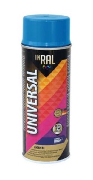 Emalja aerosols inral universal 400ml ral5012 gaiši zila