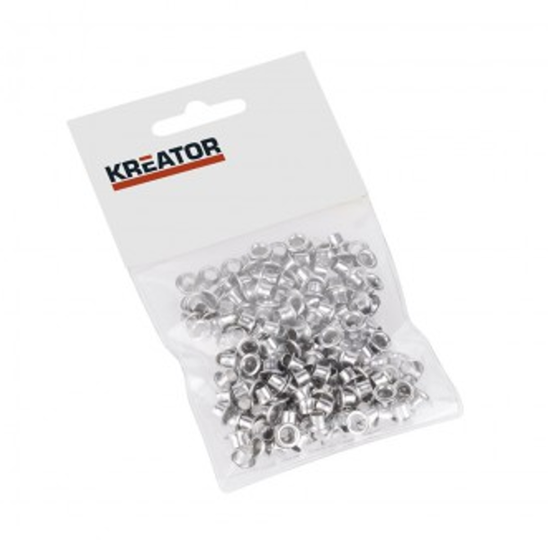 Kniedes alumīnija caurumspiednim 4mm (100gab.) Kreator