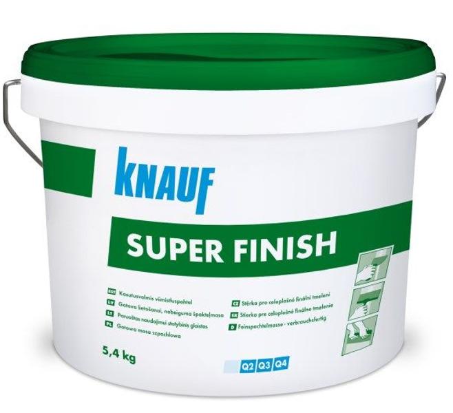 KNAUF Super Finish 5.4kg gatavā vieglā špaktele (zaļā)