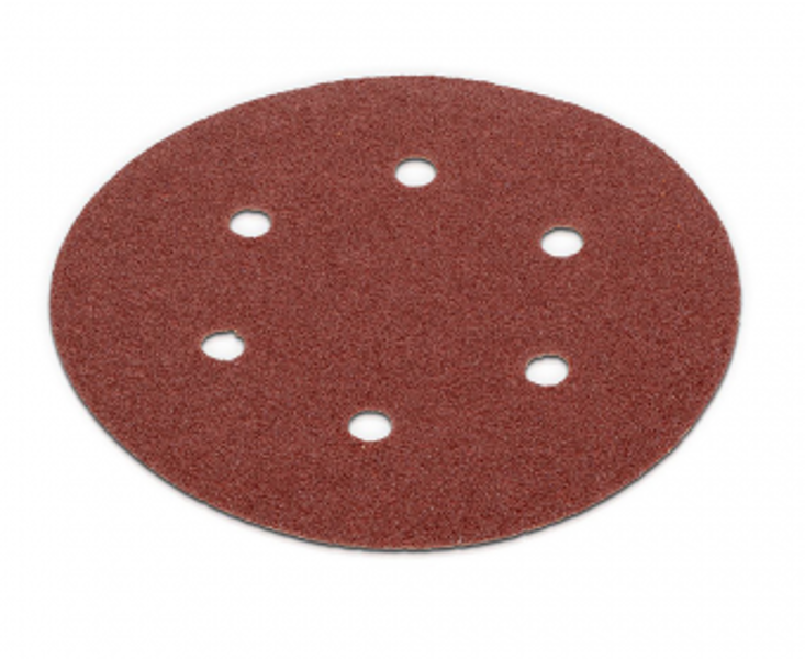 Smilšpapīra disks Ø150mm, G60 (5gab.), auduma bāze Kreator