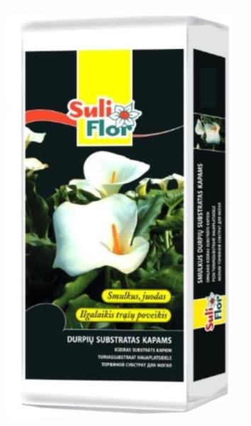 Kūdras substrāts kapiem Suliflor, 45 L