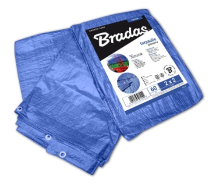 Tents zils, Bradas