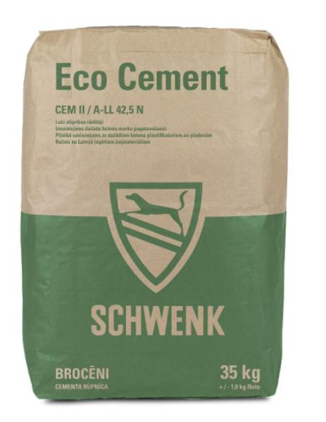 Cements Schwenk Eco CEM II A/LL 42,5N, 35 KG