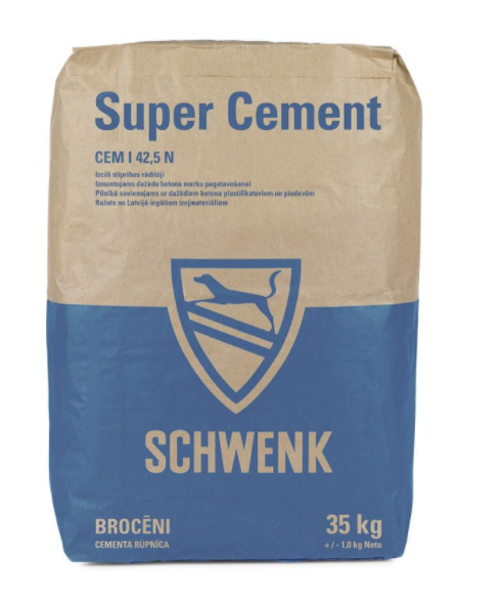 Cements Schwenk CEM I 42,5N 35 KG