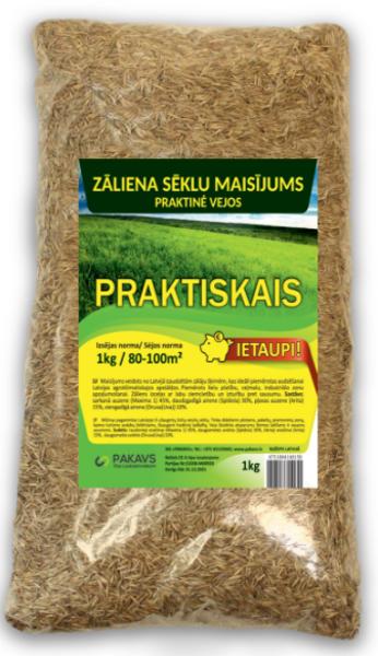 Zāliena sēklu maisījums Praktiskais, 1 kg
