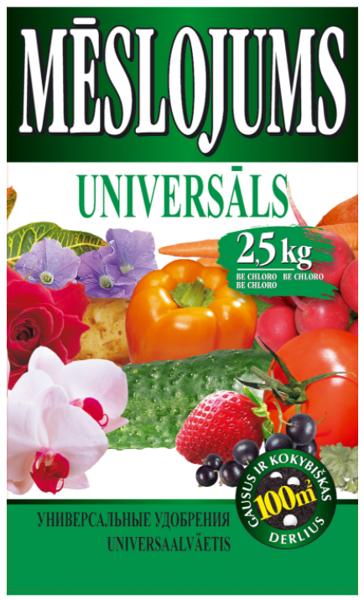 Mēslojums Universāls 2.5kg AGR