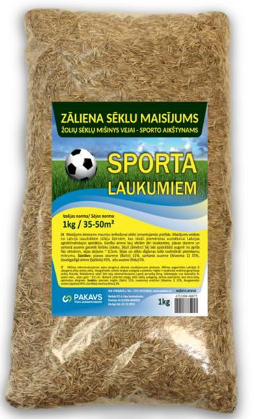 Zāliena sēklu maisījums Sports, 1 kg
