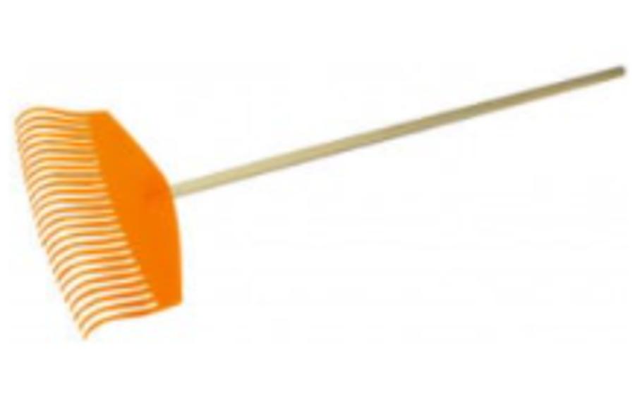 Lapu grābeklis ar kātu, 51 cm