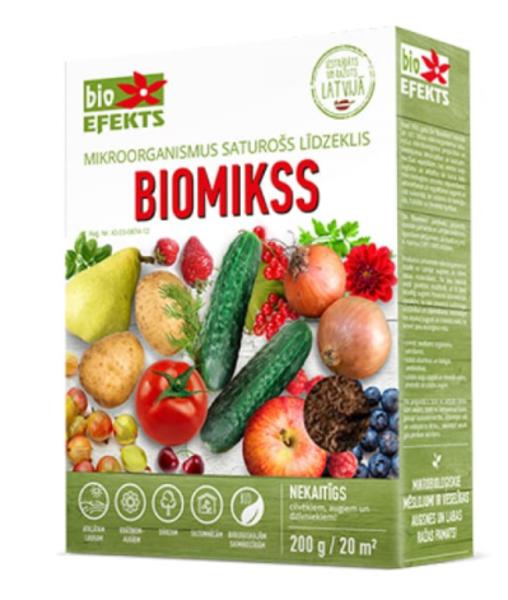 Biomikss (mitrais), 200 g