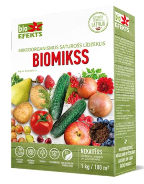 Biomikss (mitrais), 1 kg