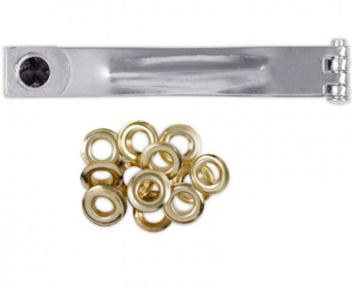 Kniedētājs 10mm + kniedes (10gab.) Kreator