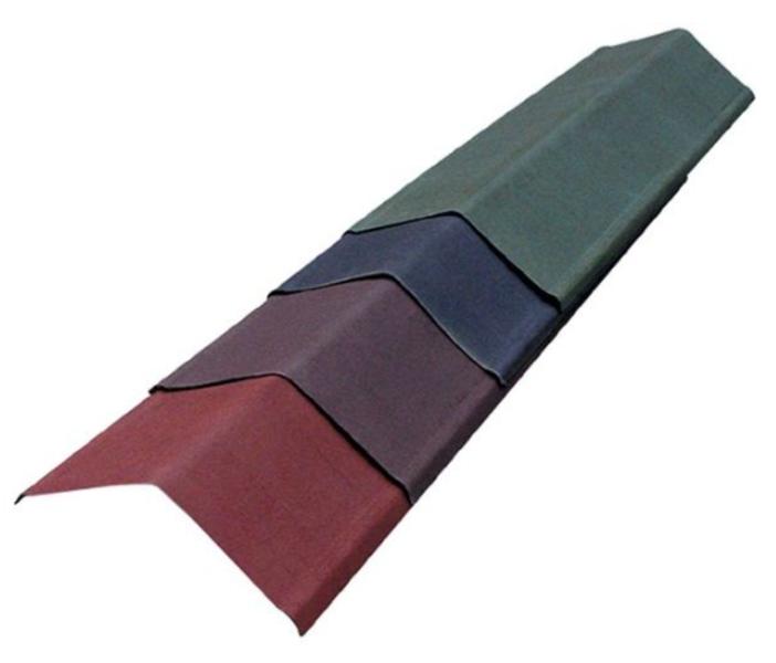 Vējmala onduline verge classic sarkans f3204p, 20 gab. (cena par gab.)