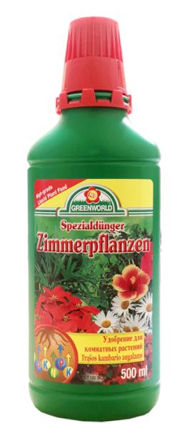Mēslojums istabas augiem 500 ml