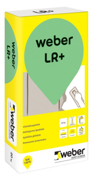 SMALKAIS LĪDZINĀTĀJS WEBER LR+ 2KG