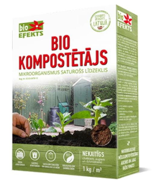 Biokompostētājs mitrais, 1 kg