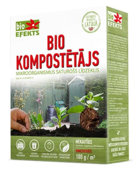 Biokompostētājs sausais, 100 g