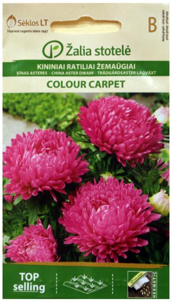 Asteres COLOUR CARPET rozā 0.5g