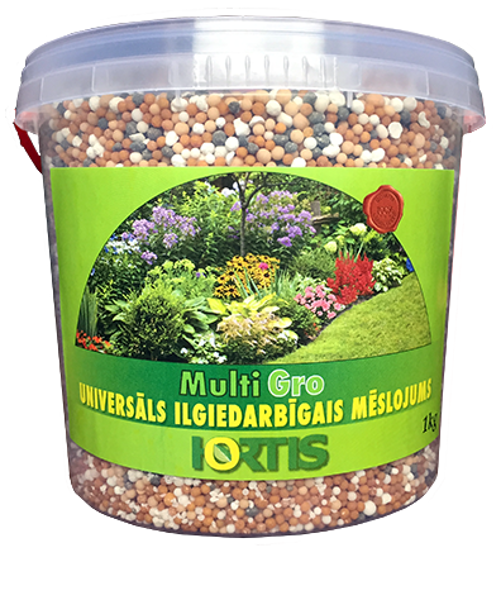 Hortis ilgiedarbīgais mēslojums Multigro 1kg